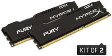 HyperX Fury DDR4-2666 BK C15 DC - 8GB