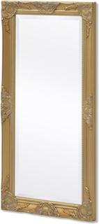 vidaXL vægspejl barok-stil 100 x 50 cm guld