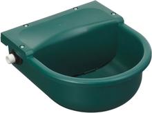 Kerbl vandkop med svømmer S522 3 l plastik grøn 22522