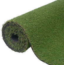 vidaXL Konstgräsmatta 1,5x10 m/20-25 mm grön