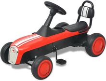 vidaXL pedal-gokart rød