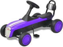 vidaXL pedal-gokart lilla