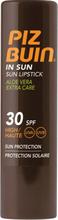Piz Buin In Sun Lipstick Aloe Vera Extra Care - SPF30 4 g