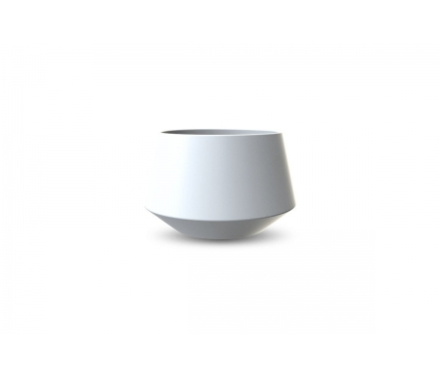 Cooee Convex - Urtepotteskjuler - Hvid - 9,5 cm.