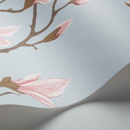 Magnolia tapetti sininen