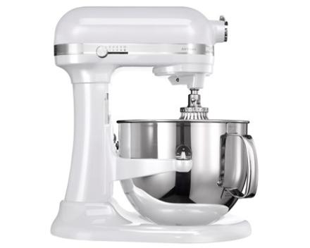 KitchenAid Artisan køkkenmaskine matteret hvid 6,9 L