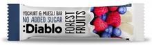 Diablo Sugar Free Forest Fruits Yoghurt & Muesli Bar 30 g