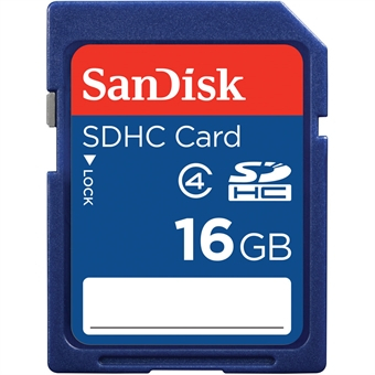 SanDisk SDHC Class 4 16GB