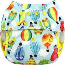 Blueberry - Capri 2.0 Überhose (Prefold) - Balloons - One Size (5,5-16 kg) | Druckies