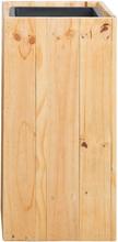 Kukkaruukku 28x28x60 cm puinen SYKIA