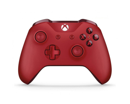 Xbox One S Wireless Controller Röd V2