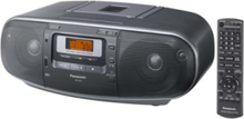 -RX-D55 - boombox - CD - FM - Stereo - Svart