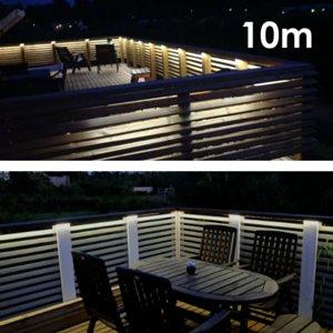 LED nauha terassipaketti 10 metriä, himmennettävä, IP65