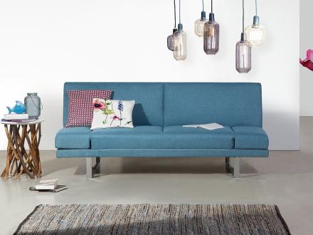 Sovesofa - marineblå - sofa - stofsofa - York