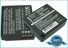 Panasonic DMW-BLE9 DMW-BLE9PP akku - 750 mAh
