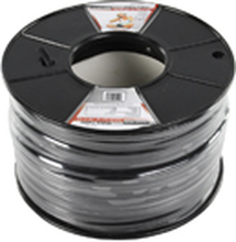 Professional flat audio cable on a 100 m reel