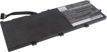 Lenovo IdeaPad U470 akku 3700mAh / 54.76Wh mAh - Musta