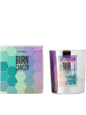 Duftlys - Silver Rain Victorian Candles Burn Cancer