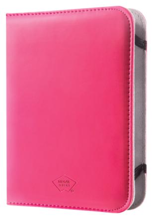 E-kirjanlukulaitteen kotelo PU-nahkaa eBook Reader 6 pinkki