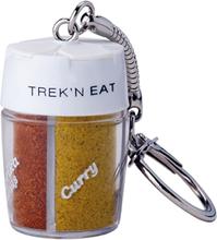 Trek´n Eat Kryddströare med 4 fack med separata öppningar och nyckelring
