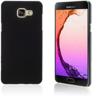 Gummibelagt hard deksel for Samsung Galaxy A5 SM-A510F (2016) - sort