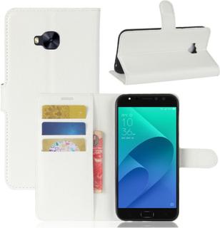 ASUS ZenFone 4 Selfie Pro (ZD552KL) Etui laget av kunstlær og silikon - Hvitt