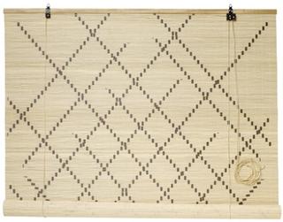 Nordal Rullgardin bambu 120x160 cm - Natur