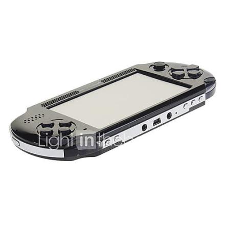 Co-crea 4,3 tuuman kosketusnäyttö FM TV Game MP5 Musta