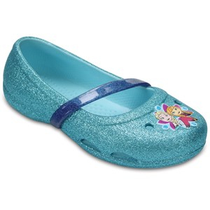 Crocs Ballerina, Lina, Frozen, Ice Blue 19-20 EU - Babyshop