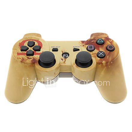 Dual Shock kuusiakselinen Langaton Bluetooth-ohjain PS3: lle