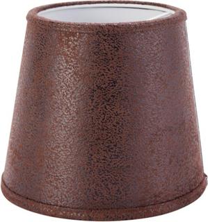 PR Home Queen Lampeskjerm Lær Brun 10 cm