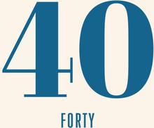 Kort födelsedag 40 år