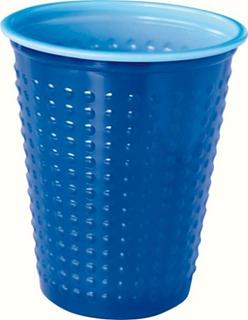 Duni Plastbeger Colorix 20Cl 40-pakk Blå Duni