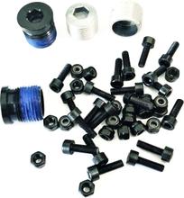 OneUp Components Composite Pedal Pin Kit Sort, 20stk pinner og mutter
