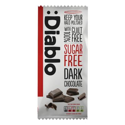 Diablo Sukkerfri Mørk Chokolade 85 g