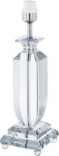 Glasbury lampfot 2 (Förkromad/blank)