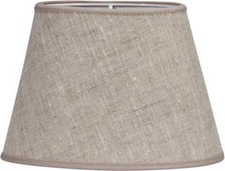 PR Home Oval Lampeskjerm Lin Lysbeige 30 cm