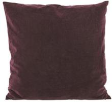 House Doctor Velv tyynynpäällinen 60x60 Aubergine