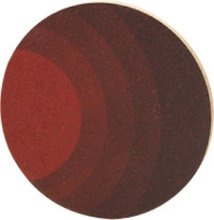 Magasin Grytunderlägg Rund Kork Röd 20 cm