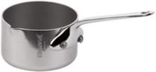 Mauviel Cook Style Kastrull Mini med pip 0,07L blank stål Mauviel
