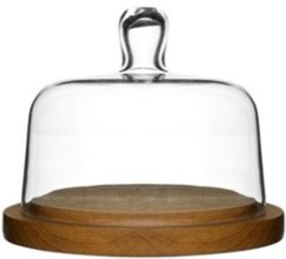 Sagaform Oval Oak Osteklokke Rund Sagaform