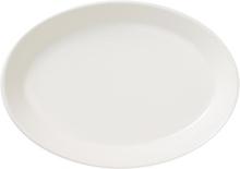 Arabia KoKo Soikea lautanen 18x26 cm valkoinen