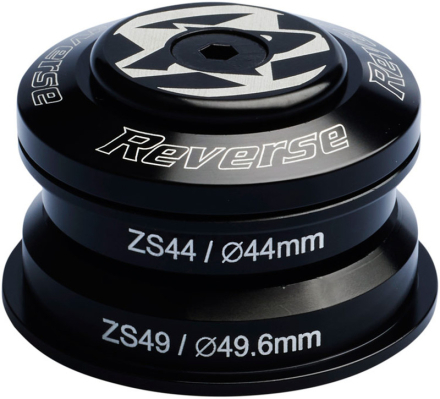 Reverse Base Styrfitting ZS44/28.6 | ZS49/30 sort 2019 Styrfittings Semi-integrerede