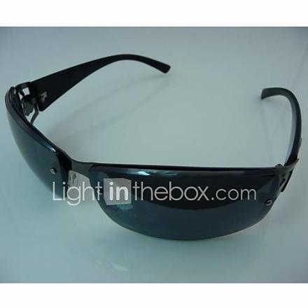 Fashion Unisex Musta runko aurinkolasit