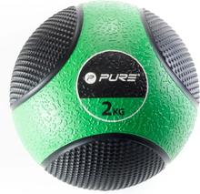 Pure2Improve Medicinboll 2 kg grön