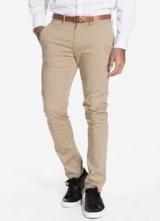 Selected Homme Slhslim-Yard White Pepper Pants W N Byxor Ljus Grå