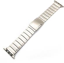 Apple Watch Series 4 40mm En Perle Rustfritt Klokkereim - Sølv