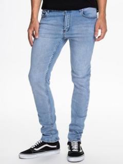 Cheap Monday Tight Stonewash Blue Jeans Denim Blå