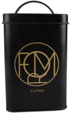 FORM Living Kaffeburk Plåt Svart/guld