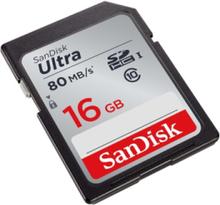 Ultra SDHC UHS-I 80MB/s - 16GB